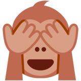 See-No-Evil Monkey on Twitter Twemoji 11.2