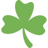 Shamrock on Twitter Twemoji 11.2