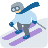 Skier, Type-3 on Twitter Twemoji 11.3