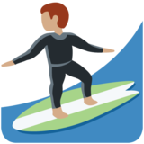 Person Surfing: Medium Skin Tone on Twitter Twemoji 11.3