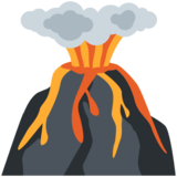 Volcano on Twitter Twemoji 11.3