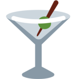 Cocktail Glass on Twitter Twemoji 12.0