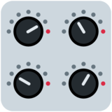 Control Knobs on Twitter Twemoji 12.0