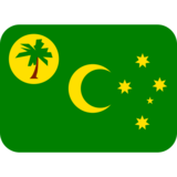 Flag: Cocos (Keeling) Islands on Twitter Twemoji 12.0
