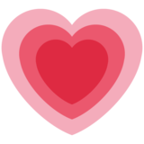 Growing Heart on Twitter Twemoji 12.0