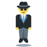 Man in Suit Levitating on Twitter Twemoji 12.0