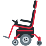 Motorized Wheelchair on Twitter Twemoji 12.0