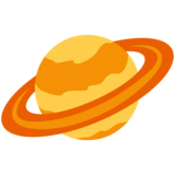 Ringed Planet on Twitter Twemoji 12.0