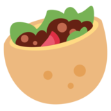 Stuffed Flatbread on Twitter Twemoji 12.0