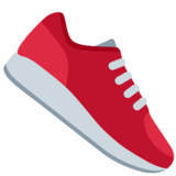 Running Shoe on Twitter Twemoji 11.4