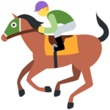 Horse Racing on Twitter Twemoji 11.4