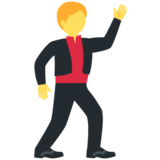 Man Dancing on Twitter Twemoji 11.4