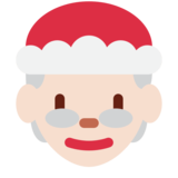 Mrs. Claus: Light Skin Tone on Twitter Twemoji 11.4