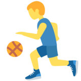 Person Bouncing Ball on Twitter Twemoji 11.4