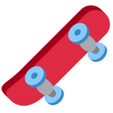 Skateboard on Twitter Twemoji 11.4