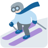 Skier, Type-1-2 on Twitter Twemoji 11.4