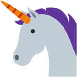 Unicorn on Twitter Twemoji 11.4