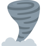 Tornado on Twitter Twemoji 12.1