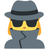 Woman Detective on Twitter Twemoji 12.1