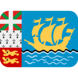 Flag: St. Pierre & Miquelon on Twitter Twemoji 12.1