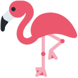 Flamingo on Twitter Twemoji 12.1