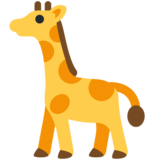 Giraffe on Twitter Twemoji 12.1