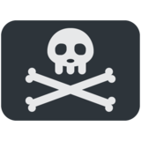Pirate Flag on Twitter Twemoji 12.1