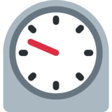 Timer Clock on Twitter Twemoji 12.1