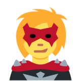 Woman Supervillain on Twitter Twemoji 12.1
