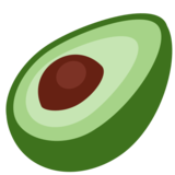 Avocado on Twitter Twemoji 12.1.3