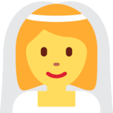 Person With Veil on Twitter Twemoji 12.1.3