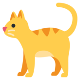 Cat on Twitter Twemoji 12.1.3