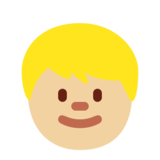 Child: Medium-Light Skin Tone on Twitter Twemoji 12.1.3