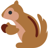 Chipmunk on Twitter Twemoji 12.1.3