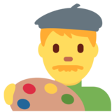 Man Artist on Twitter Twemoji 12.1.3