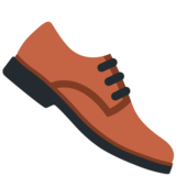 Man's Shoe on Twitter Twemoji 12.1.3