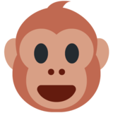 Monkey Face on Twitter Twemoji 12.1.3