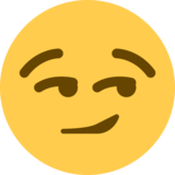 Smirking Face on Twitter Twemoji 12.1.3