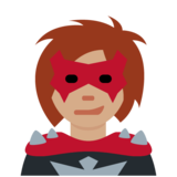 Woman Supervillain: Medium Skin Tone on Twitter Twemoji 12.1.3