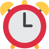 Alarm Clock on Twitter Twemoji 12.1.4