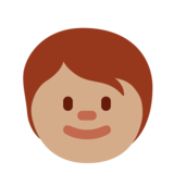 Child: Medium Skin Tone on Twitter Twemoji 12.1.4