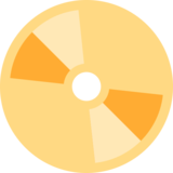 DVD on Twitter Twemoji 12.1.4