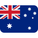 Flag: Australia on Twitter Twemoji 12.1.4