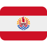 Flag: French Polynesia on Twitter Twemoji 12.1.4