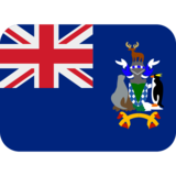 Flag: South Georgia & South Sandwich Islands on Twitter Twemoji 12.1.4
