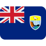 Flag: St. Helena on Twitter Twemoji 12.1.4