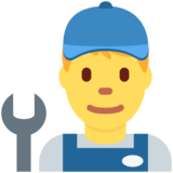 Man Mechanic on Twitter Twemoji 12.1.4