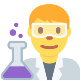 Man Scientist on Twitter Twemoji 12.1.4