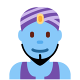 Man Genie on Twitter Twemoji 12.1.4