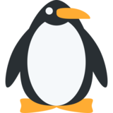 Penguin on Twitter Twemoji 12.1.4